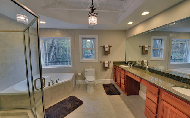 Blue Ridge Georgia Custom Homes  Modern  Bathroom  atlanta  by