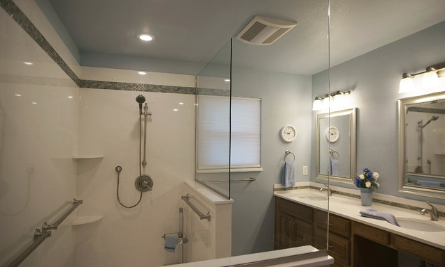 Blue Stem Bath Remodel And Modification Traditional Bathroom Oklahoma City By Home Mods