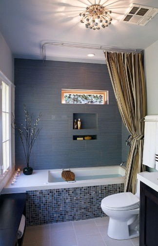 Blue Zen Bath contemporary bathroom
