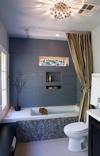 Blue Zen Bath contemporary-bathroom