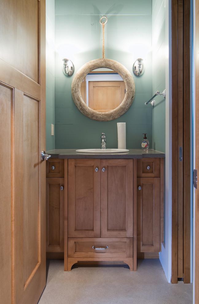 Boathouse Bathroom Vanity - Farmhouse - Bathroom ...