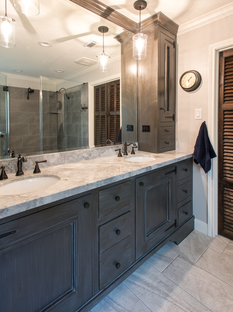 Boatrights Kingwood Texas Rustic Bathroom Houston By Modern Home Renovation