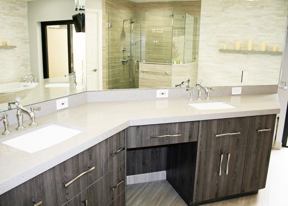 Boca Point home, Boca Raton, FL - Modern - Bathroom ...