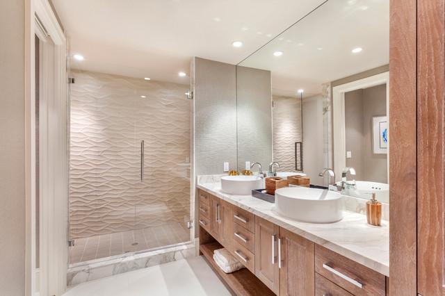 Boca Raton Condo Remodel Contemporary Bathroom Other