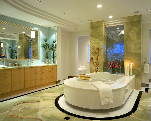 Boca Raton Waterfront Contemporary Bathroom By Wm L Construction Llc