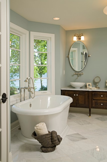 Bohns Point Residence traditional-bathroom