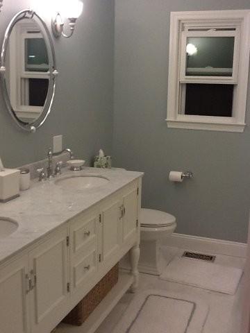 Bold transitional bath traditional bathroom for Bathroom tile philadelphia