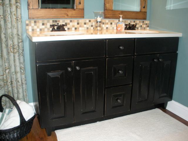 Bomgardner bathroom for Brammer kitchen cabinets