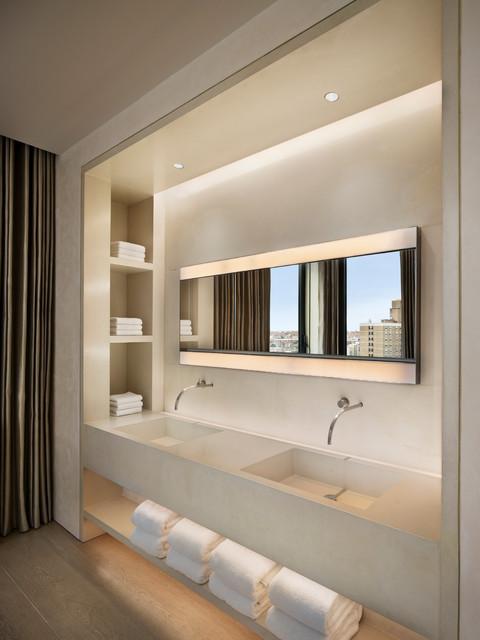 Bond Street Residence Contemporary Bathroom new york  : contemporary bathroom from www.houzz.com size 480 x 640 jpeg 61kB