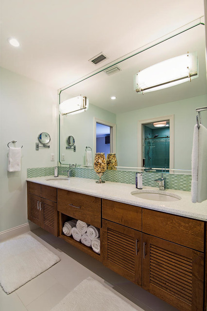 Bonita Bay Guest Bath Contemporary Bathroom Other By Reed Design Build Llc