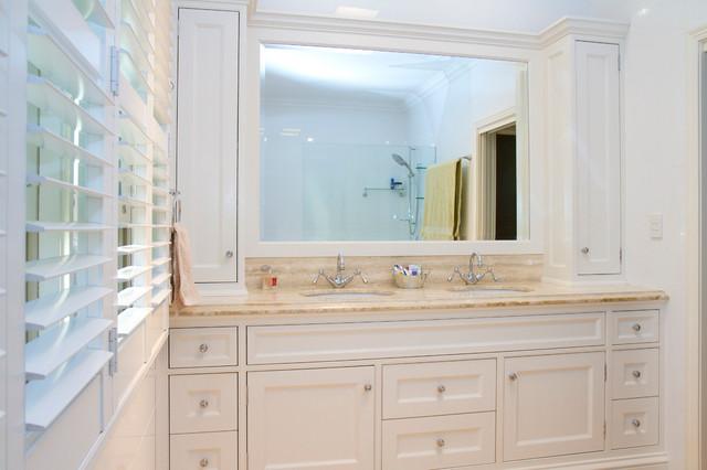 Bonney ave modern queenslander traditional bathroom for Queenslander bathroom designs
