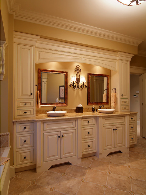 Bonnie Shores Bathroom, Meredith - Traditional - Bathroom - Other - by Granite State Cabinetry