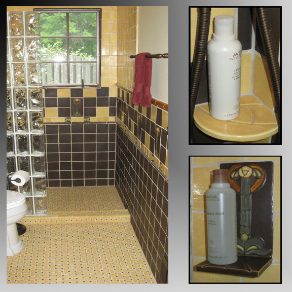 BonTon handmade tile bathroom
