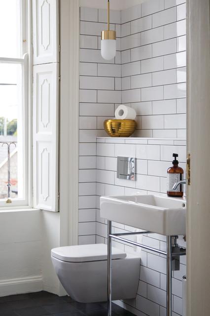 Booterstown period home contemporary bathroom dublin for Bathroom ideas dublin