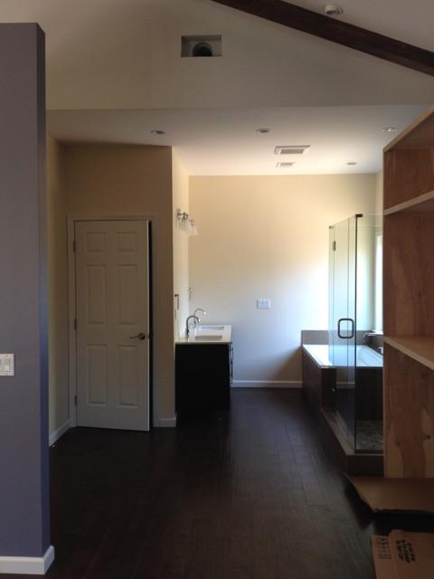 Borgman Residence: Addition traditional-bathroom