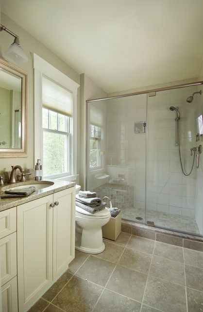 Boston Area Family Home traditional-bathroom