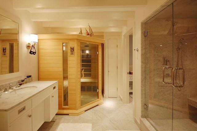 Boston Condo beach-style-bathroom