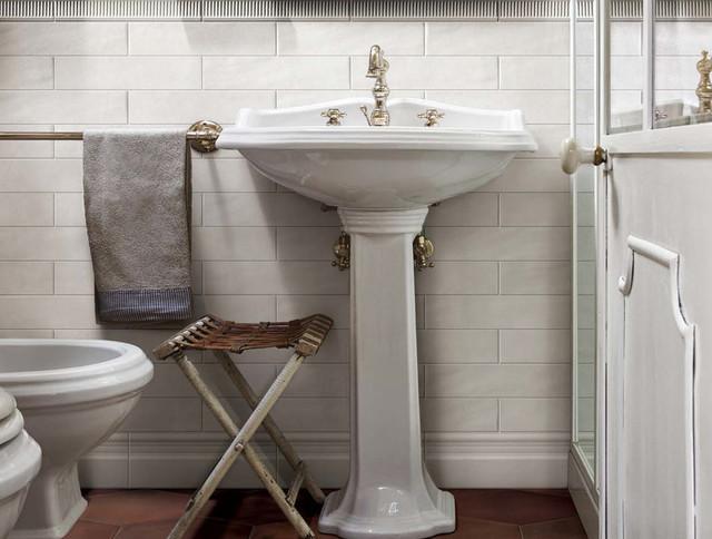 Boston Porcelain Tile Contemporary Bathroom
