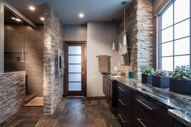 Awesome Bouhasin Master Bath Fusion Bathroom Design