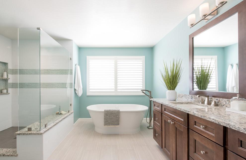 Boulder, Colorado Modern Bathroom Remodel - Contemporary ...