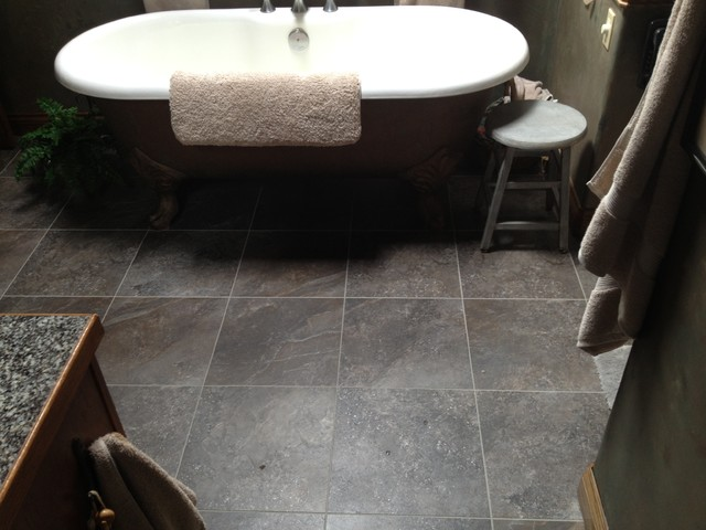 vinyl tile flooring bathroom boulder luxury vinyl tile 21275