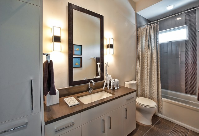 Bowman, Greenbelt Homes, Austin TX contemporary bathroom