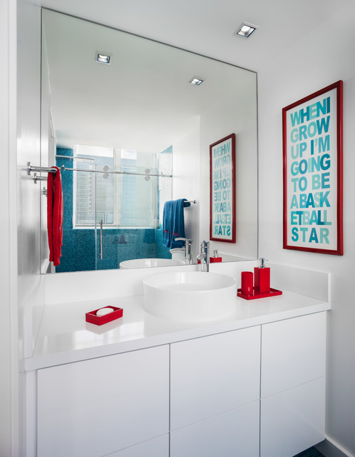 Go Back Gallery For Modern Boys Bathroom
