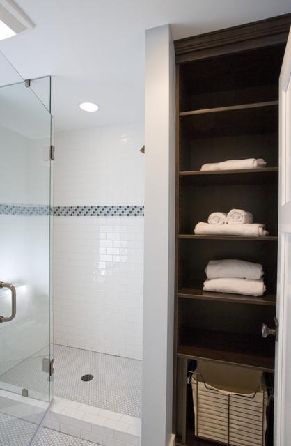 Boy's Bathroom Shower craftsman-bathroom