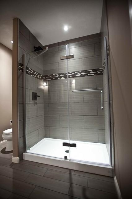 Boyd Basement & Custom Cabinetry Renovation contemporary-bathroom
