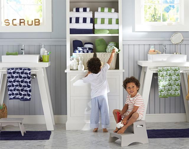 Boys shared bathroom for Kids bathroom ideas for boys
