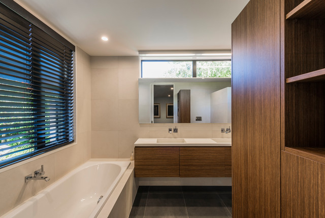 Bradnor Road Contemporary Bathroom Christchurch By Cymon Allfrey Architects Limited