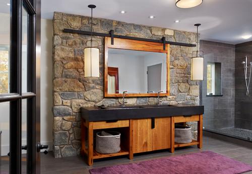 contemporary bathroom design by philadelphia architect moger mehrhof architects
