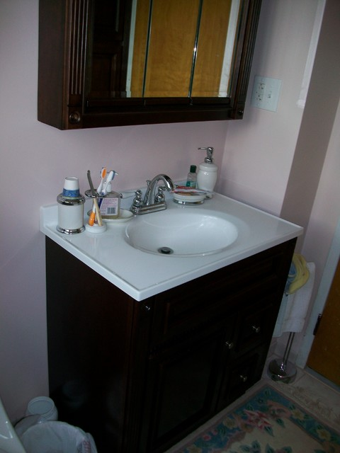 brand new bathroom on 1st floor traditional bathroom new york