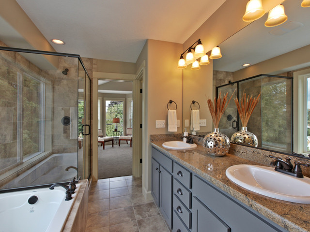 Craftsman Style House Bathroom : Brand new craftsman style home bathroom