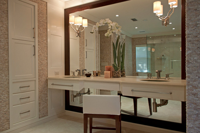 Brandon Street Residence contemporary-bathroom