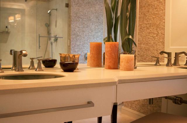 Brandon Street Residence contemporary-bathroom