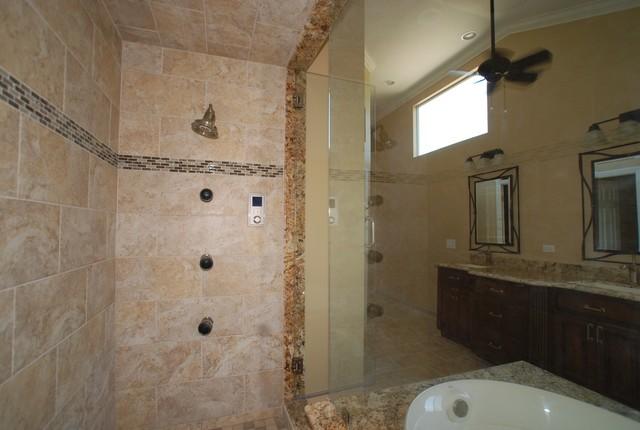 Brea Steam Shower W Oval Spa Tub W Coffee Bar Amp Walk In