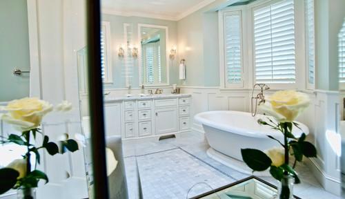 The best bathroom paint colors - Healing Aloe