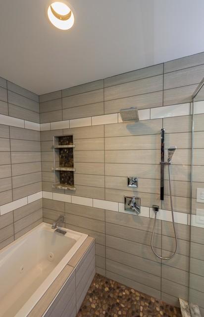 Brendonwood Contemporary Bathroom Indianapolis By Boyd Restoration Remodeling