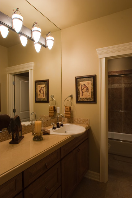 Brennan Residence traditional-bathroom