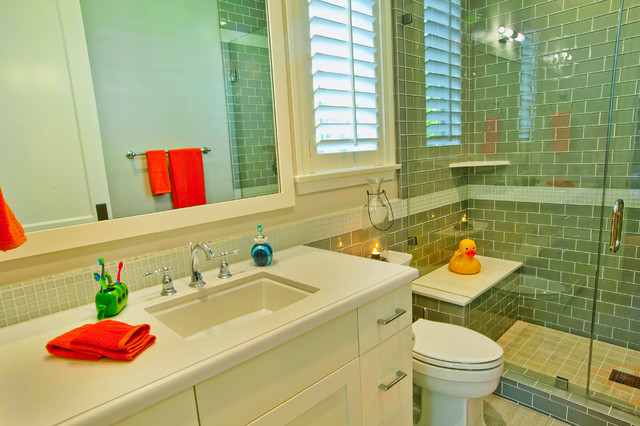 Brentwood, CA 3 traditional-bathroom