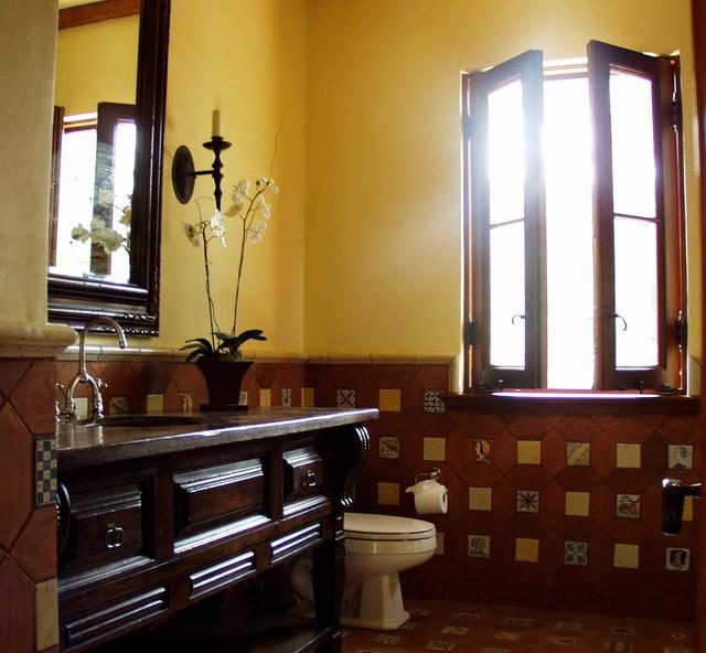 Brentwood mediterranean-bathroom