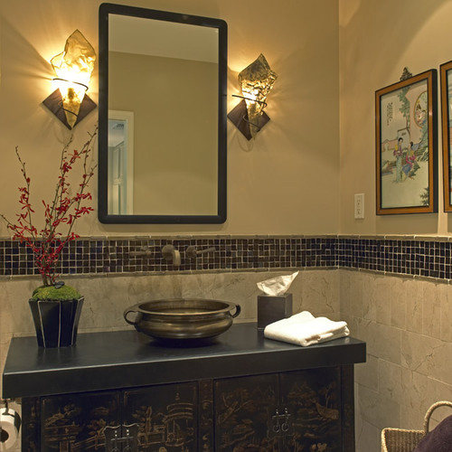 Bridge Design Studio asian bathroom
