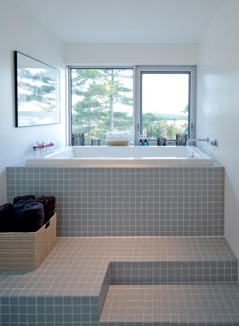 Bridge House - Modern - Bathroom - Other - by MacKay-Lyons ...