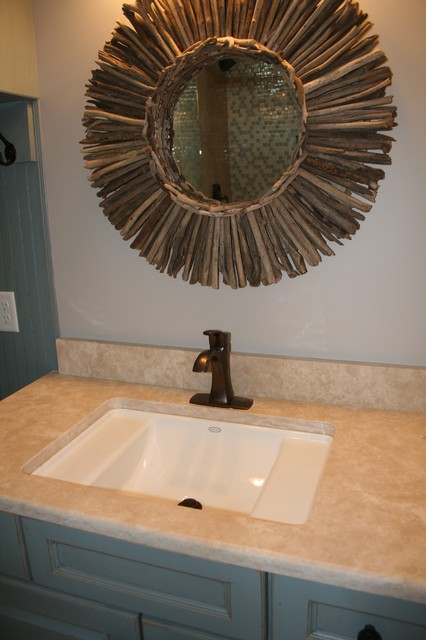 Beautiful 48quot Cottage Style Knoxville Bathroom Sink Vanity Wmirror GD1522CK