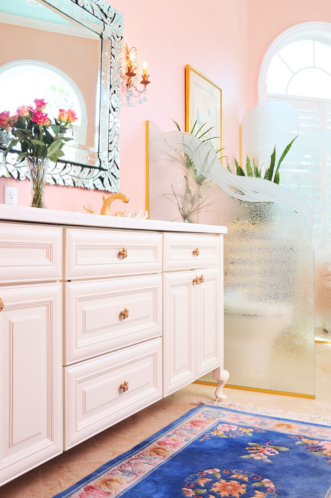 Bright and Fancy - Traditional - Bathroom - Tampa - by ...