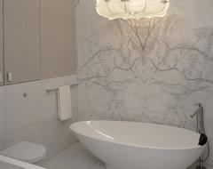 Bright aparment contemporary-bathroom