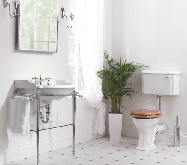 Bright Bathroom With Period Style Fitting Traditional Bathroom West Midlands By Period