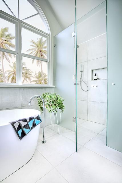 Brighton Bathroom Renovation Contemporary Bathroom Melbourne By Gia Bathroom Kitchen