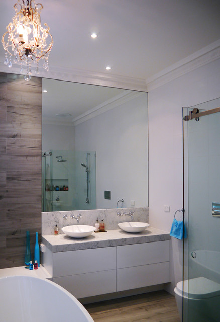 Brighton East Ensuite Renovation Contemporary Bathroom Melbourne By